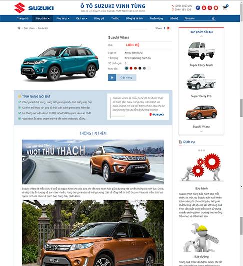 Đại lý xe ô tô Suzuki