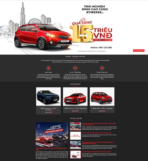 Đại lý xe ô tô Vinfast Chevrolet