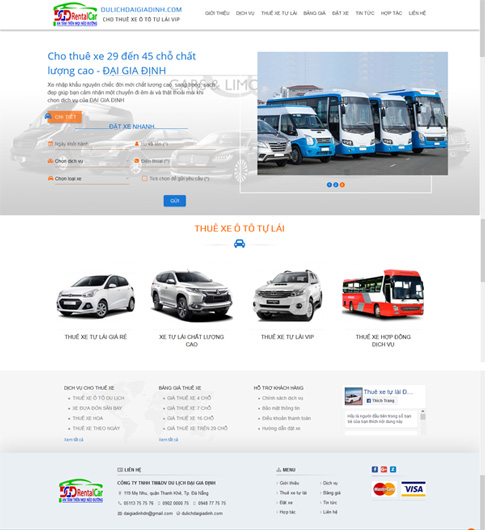 Cho thuê xe ô tô Sài Gòn