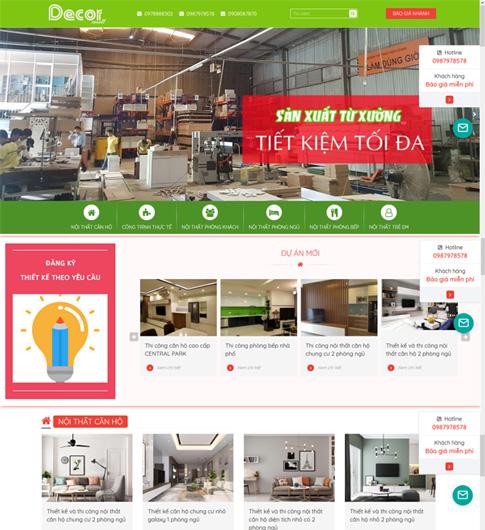 Thiết kế thi công nội thất Đà Nẵng